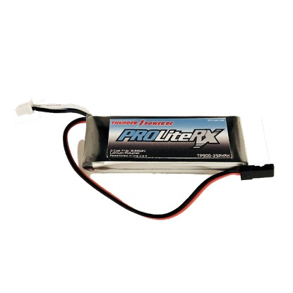 Thunder Power 2SPXRX 900mAh 20C LiPo Battery