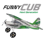 Multiplex Indoor Funny Cub - Green