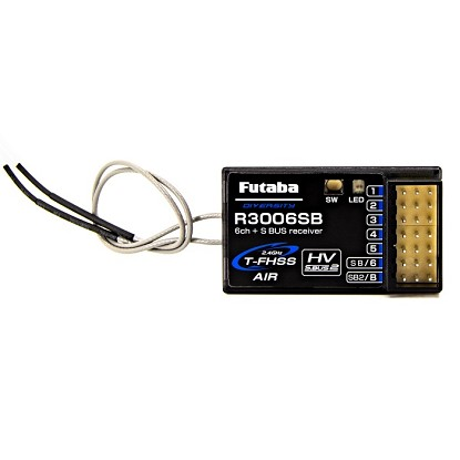 Futaba R3006SB 6-Channel Receiver (T-FHSS/S.Bus2)